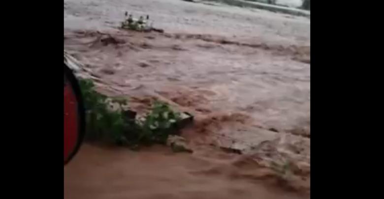 Patzcuarense desaparecido tras desbordamiento del río en Huiramba