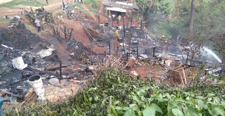 Fuga de gas termina con 5 hogares de Tacámbaro [FOTOS]