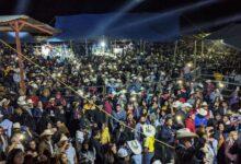 Fiestón en Santa Clara del Cobre, pero sin ninguna medida sanitaria