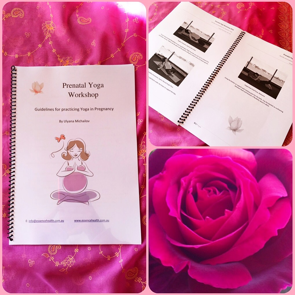 Prenatal yoga manual