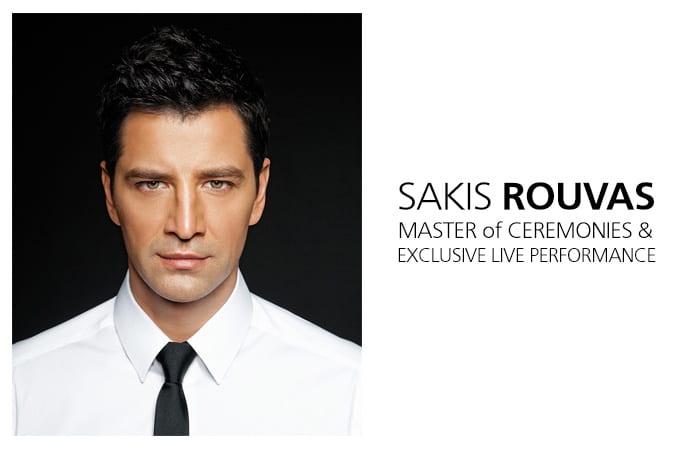 Sakis Rouvas @ THI 5th GALA