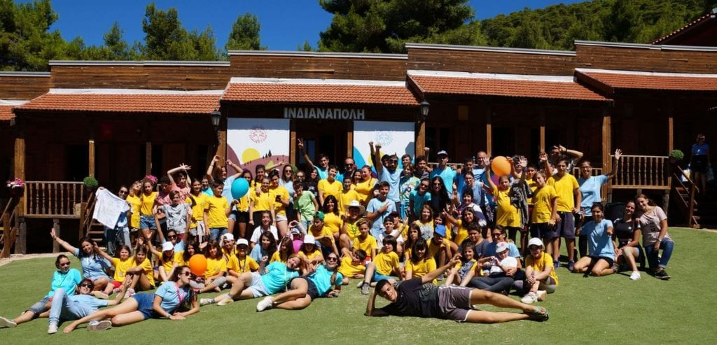 The Hellenic Initiative announces a new grant of $33,000 for the support of the 1st Therapeutic Summer Camp for Children in Greece – Elpida Youth Summer Camp 2017