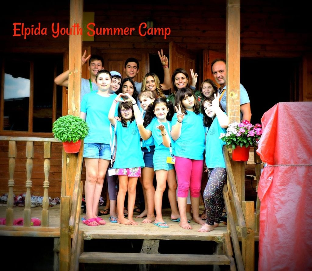 A new grant of $33,000 for the support of the 1st Therapeutic Summer Camp for Children in Greece