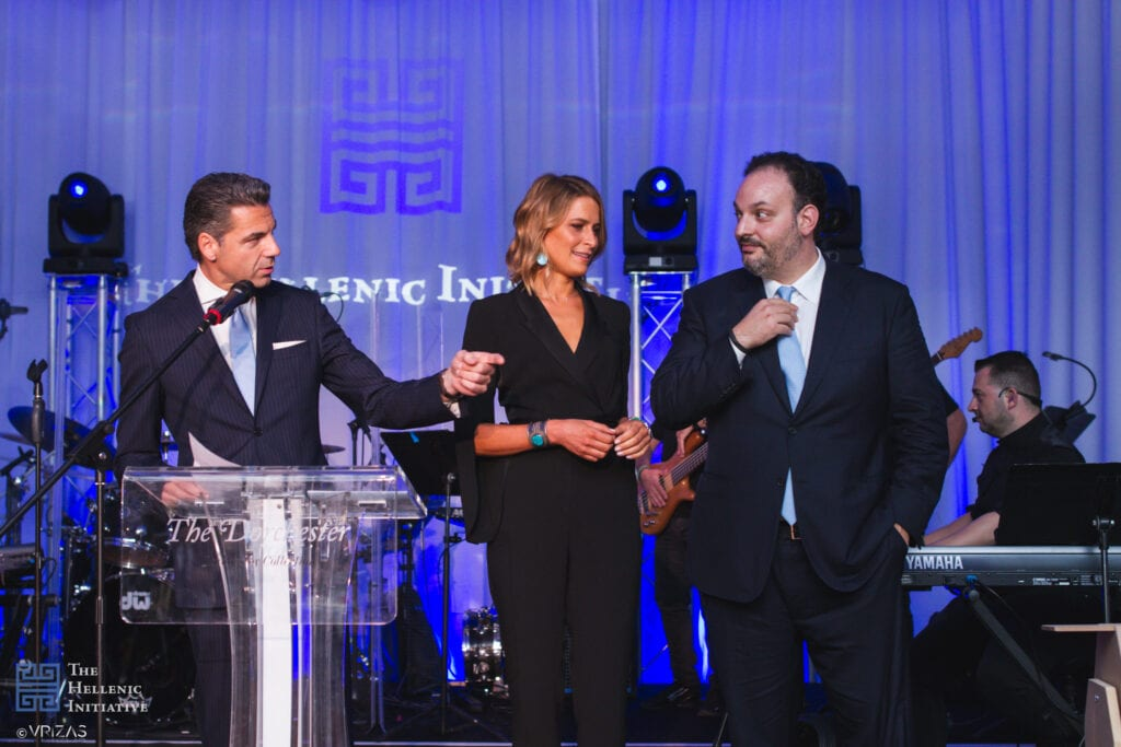 The Hellenic Initiative's 4th Annual London Event recognizing the work of HOPEgenesis and the Kivotos tou Kosmou with a special performance by Mr. Antonis Remos Sold out event raises over 250,000 GBP to fund THI's work in Greece