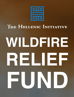 The Hellenic Initiative Donates to the Greek Fire Fighting Service | Wildfire Relief Fund