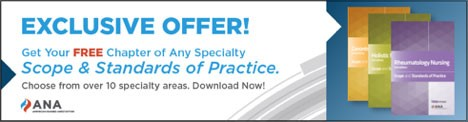 Exclusive Offer! Get your Free chapter of any specialty Scope and Standards of Practice. Choose from over 10 specialty areas. Download now!