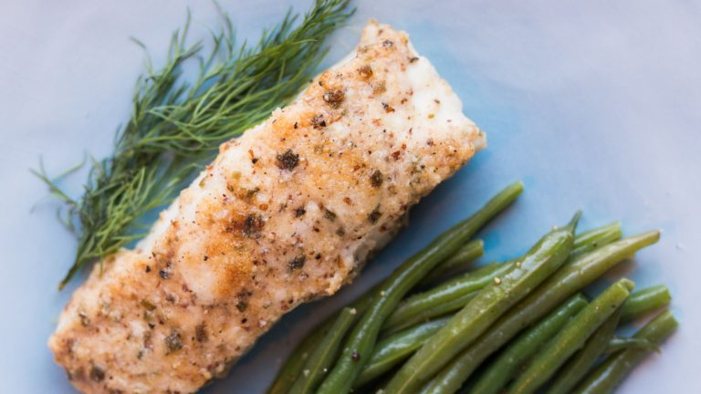 Parmesan-Encrusted Halibut {Keto-Friendly and Low-Carb}