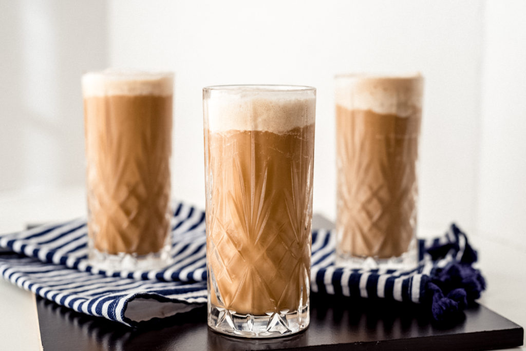 iced keto coffee