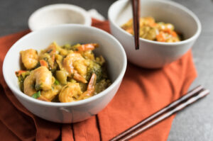 Thai Curry with Shrimp-7