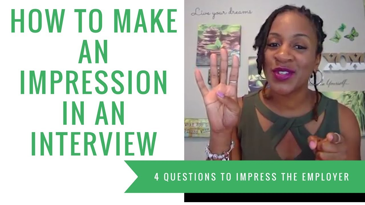 How to Make An Interview Impression