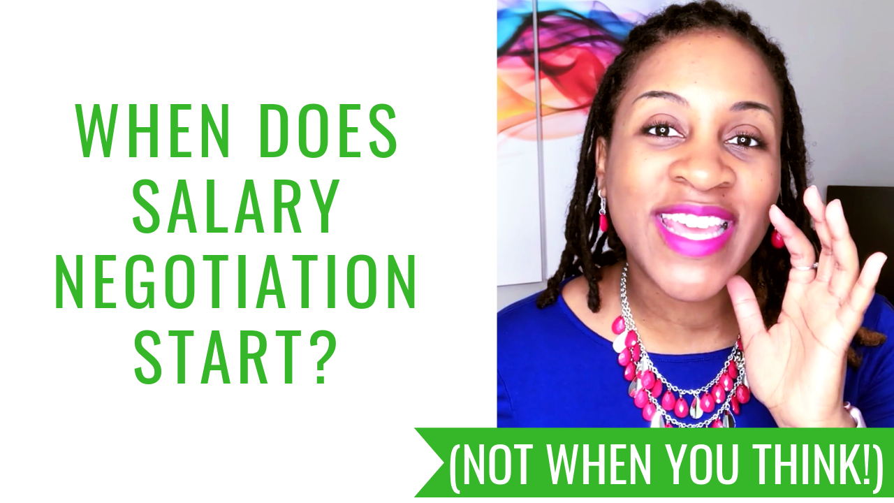 When Does Salary Negotiation Start? (NOT WHEN YOU THINK!)