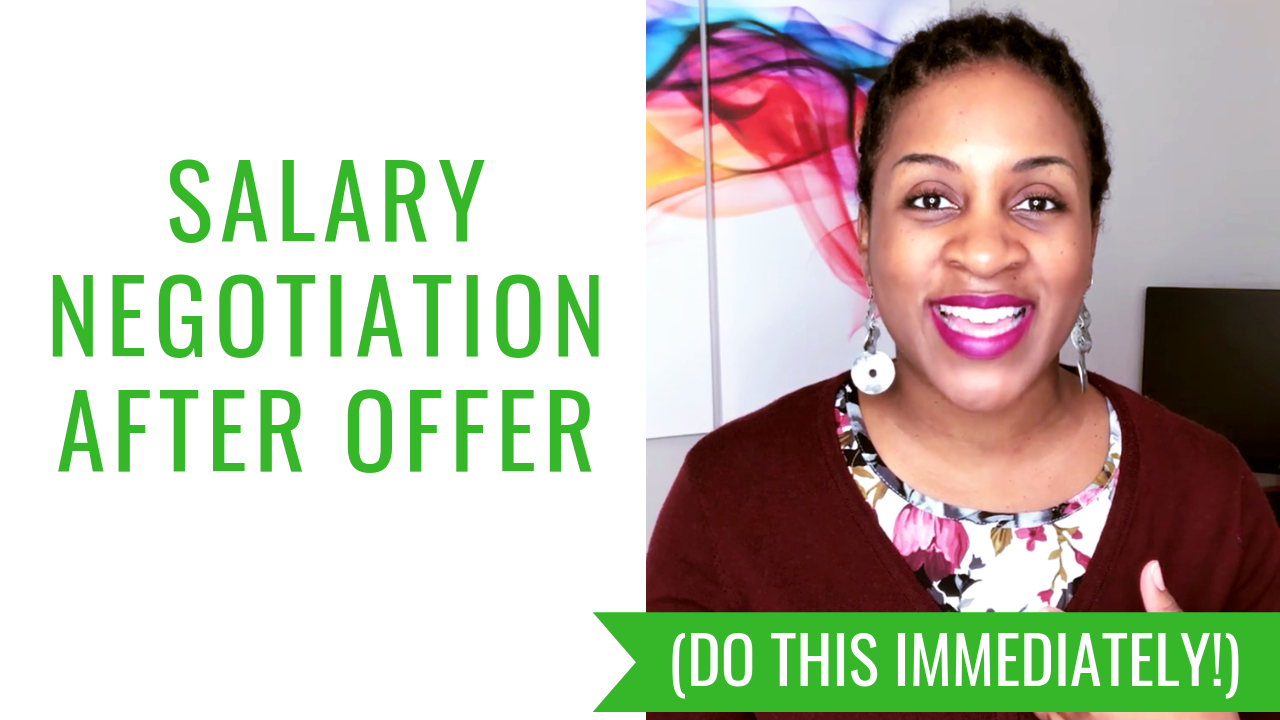Salary Negotiation After Offer (DO THIS IMMEDIATELY!)