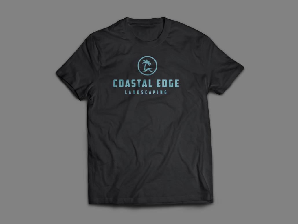 Logo on Coastal Edge Shirt