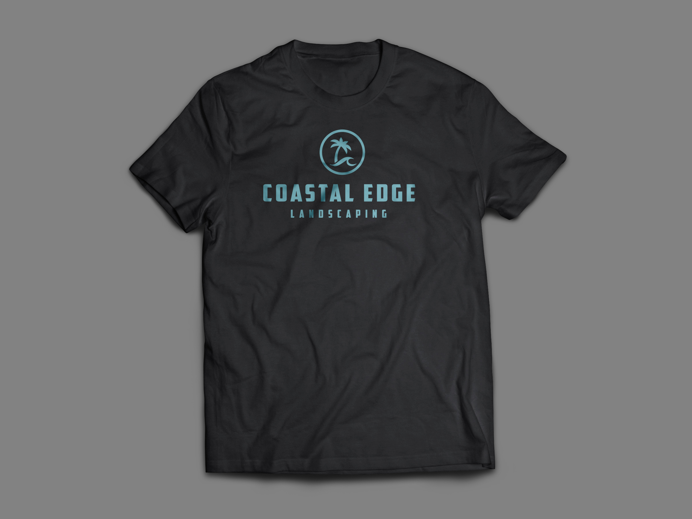 Logo on Coastal Edge Shirt