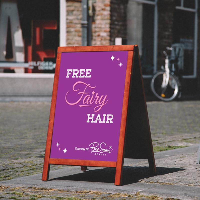 A-frame Fairy Hair