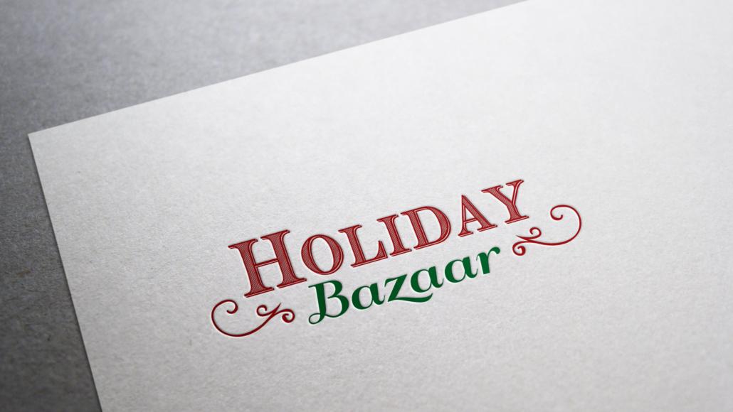 Holiday Bazaar event logo