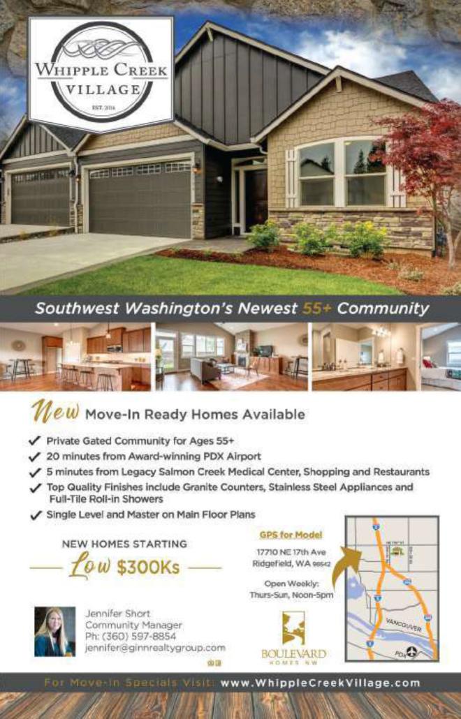 Real estate ad 55+ community
