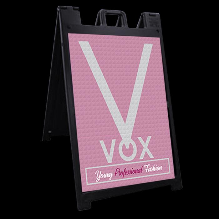 VOX Retail A-frame