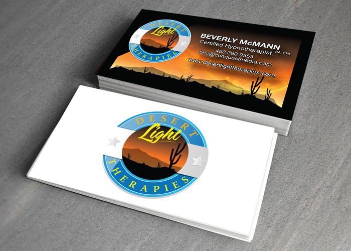 Desert Light Therapies Brand Design through Branding