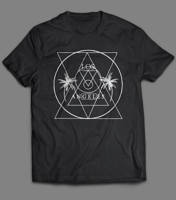 Los Angeles band shirt