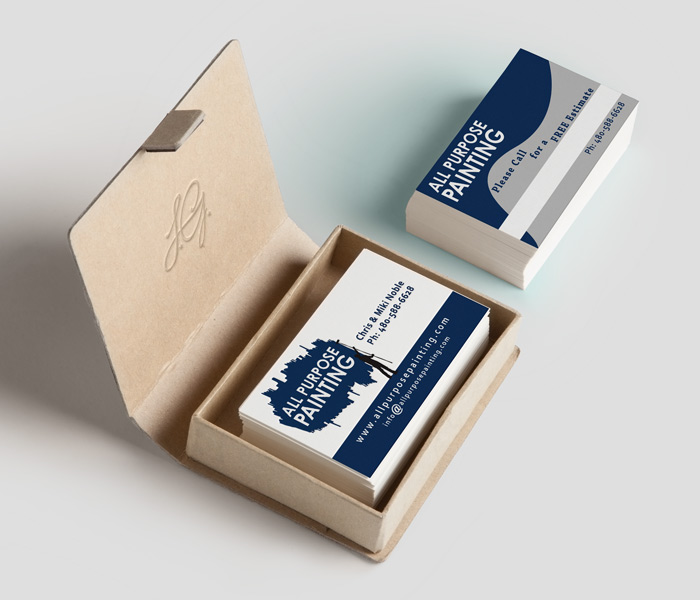 All Purpose Painting Appointment Cards