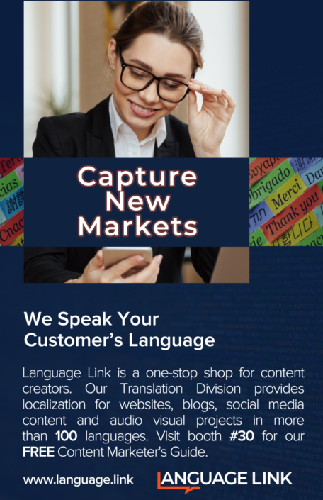 Capture new markets trade-show ad