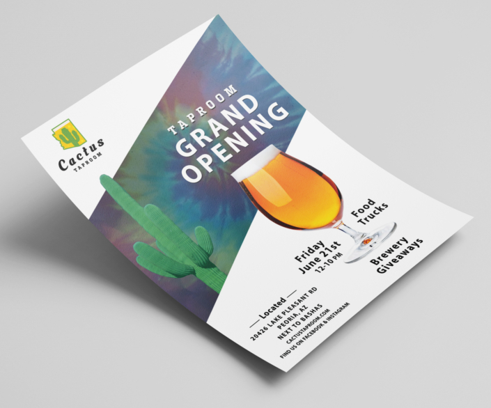 Flyer Grand Opening Peoria Arizona