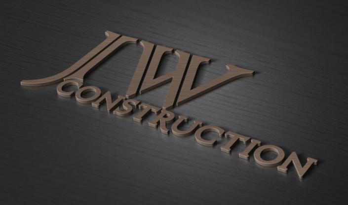 JW Construction Brand Logo Design