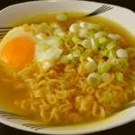 Ramen Noodles with Egg
