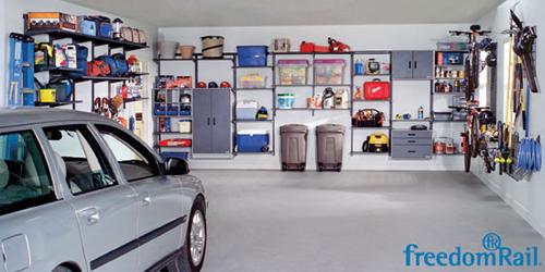 FreedomRail Garage Organization