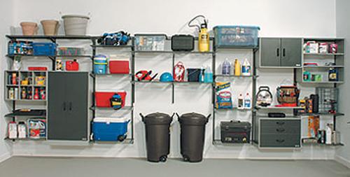 FreedomRail Shelf System