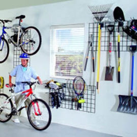 Garage Wall Grid Organization