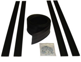 Garage Door Bottom Seal Track - 8 to 9