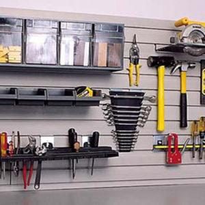 Garage Wall Storage for Workshops