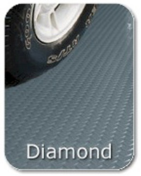Diamond Tread Roll Flooring - 7 x 17