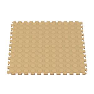 Raised Coin Interlocking Floor Tiles