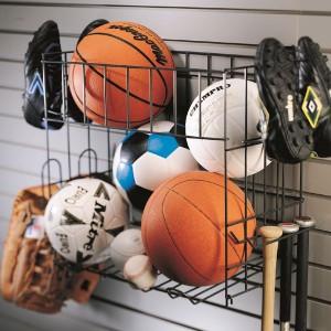 Schulte Sport Rack & Basket
