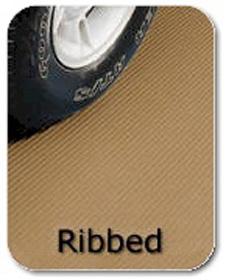 Ribbed Vinyl Flooring - 7 x 14