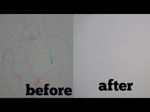 Effective Ways To Remove Crayon Off Your Walls