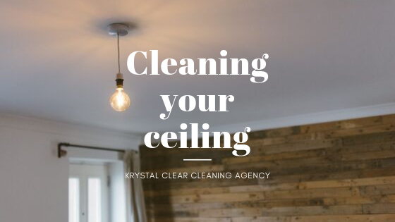 Cleaning your ceilings