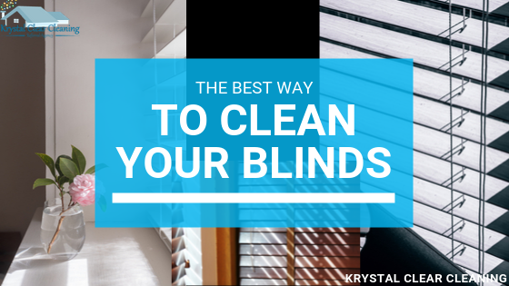 The Best Way To Clean Your Blinds!