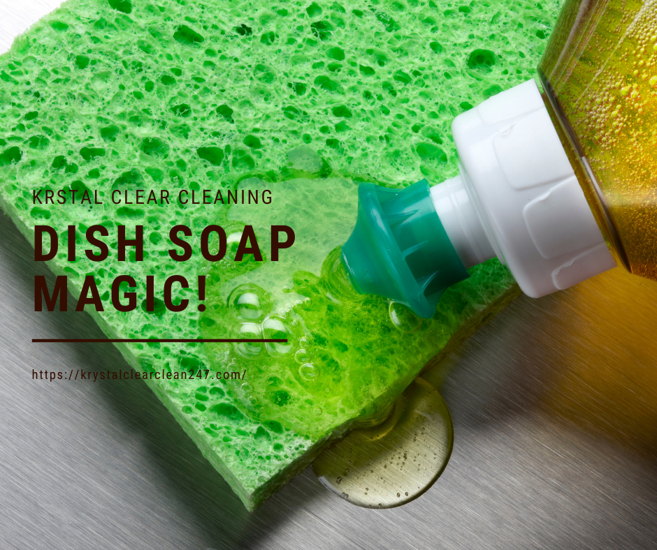 Dish Soap Magic!