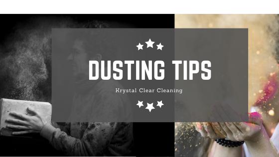 Dusting tips!