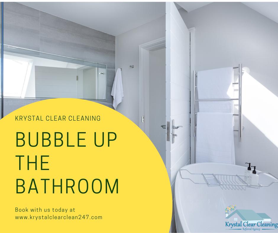 Bubble Up the Bathroom
