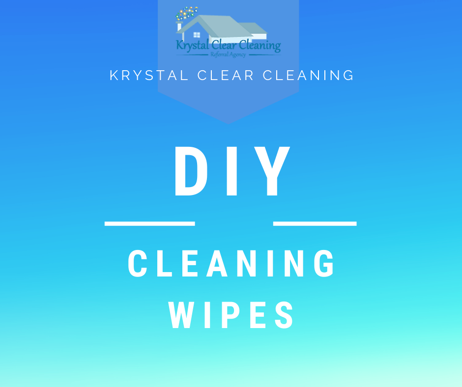 Make your own DIY Cleaning Wipes