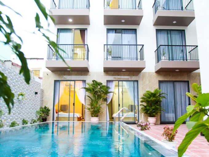 Apartment for rent with swimming pool