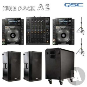 bounce audio hire package