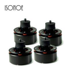 Isonoe feet black Isonoe Audio Isolation System Feet Black