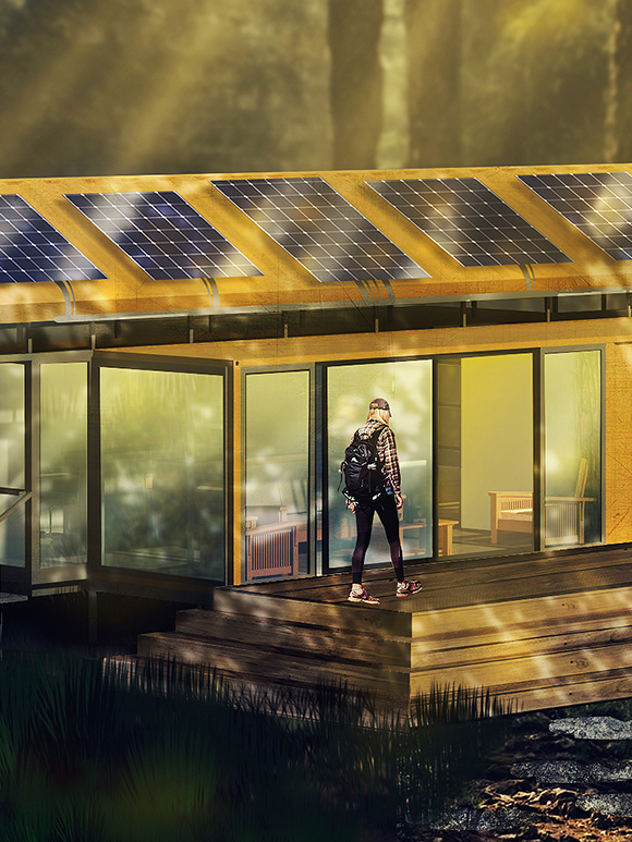 Container Home Render