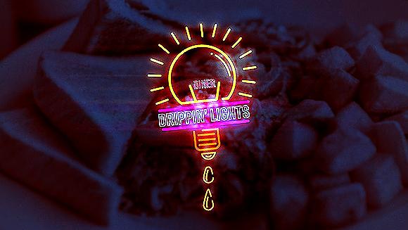 Drippin' Lights Diner Social Ad 001